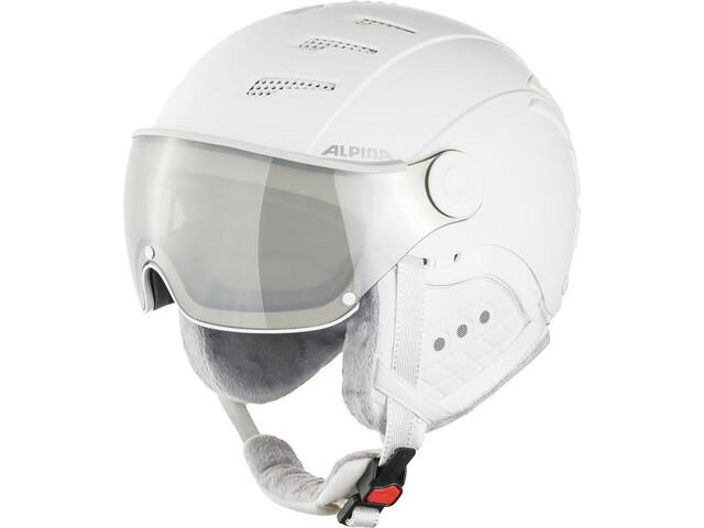 Alpina Jump 2.0 VM Ski Helmet white/grey matt